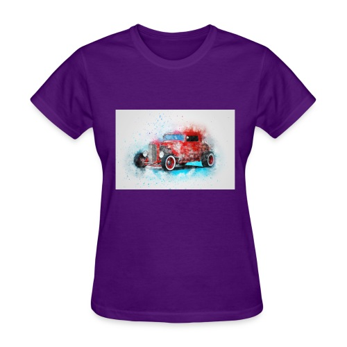 Old car - Women's T-Shirt