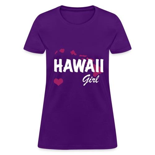 Hawaii Girls - Women's T-Shirt