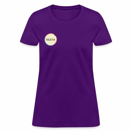 Teleta Logo - Women's T-Shirt