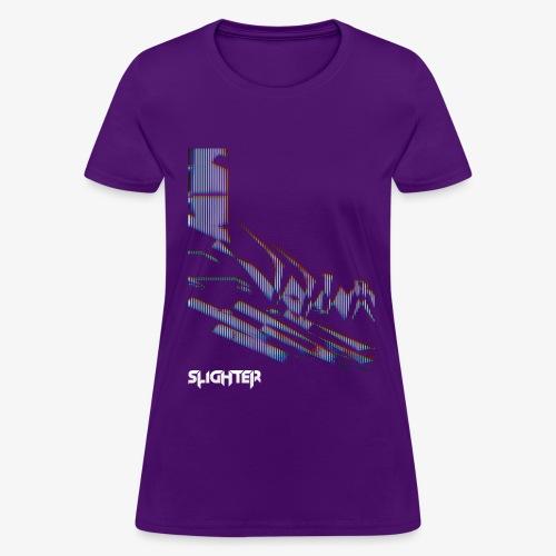 Vertical Glitch - Women's T-Shirt