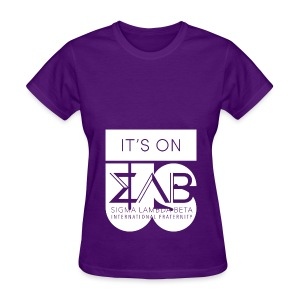 Its On Betas White - Women's T-Shirt