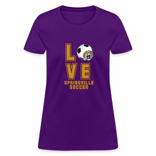 LOVE SOCCER - Women's T-Shirt