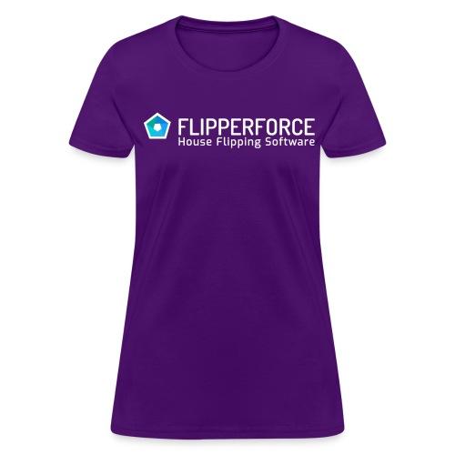 Flipper Force Logo White - Women's T-Shirt