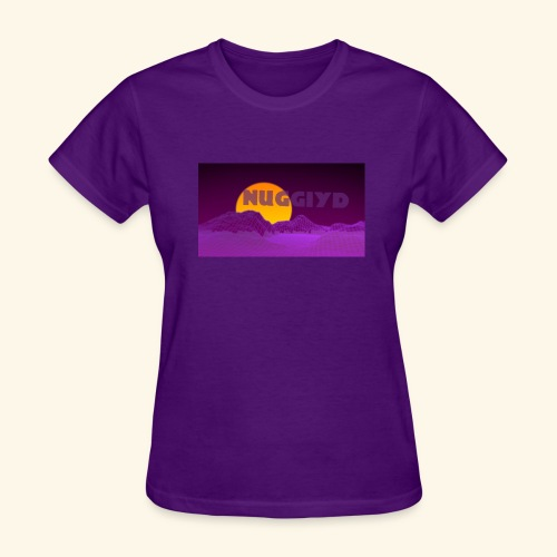 purple boy shirt - Women's T-Shirt