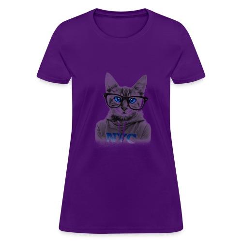 Blue Eyes Cat - Women's T-Shirt