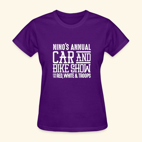 Nino's - Wordmark White - Women's T-Shirt
