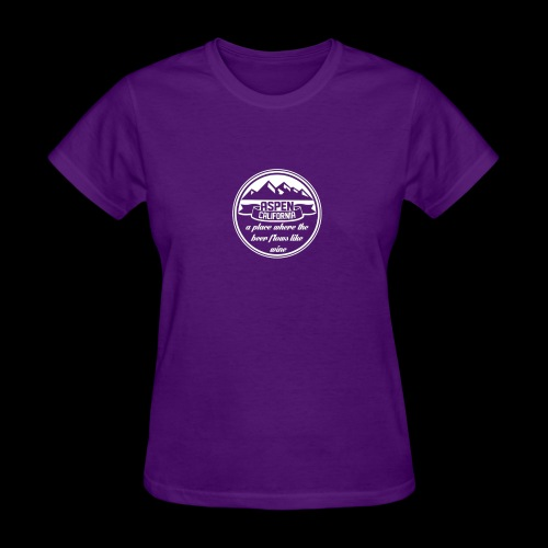 Aspen California New - Women's T-Shirt