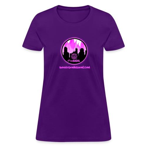 pink logo bid - Women's T-Shirt
