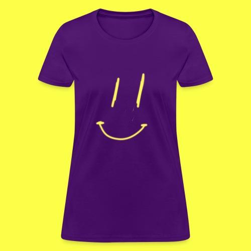 smiley face :) - Women's T-Shirt
