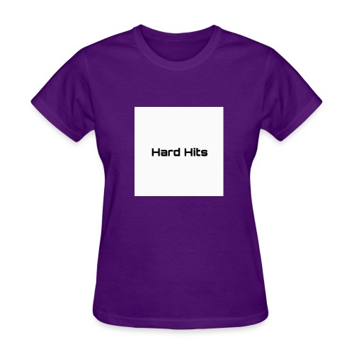 Hard Hits first model clothing line - Women's T-Shirt
