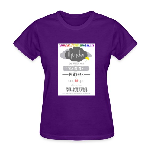 Player, Rainy, thunder, Dream - Women's T-Shirt