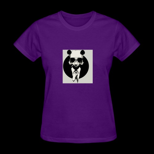 A dressed up panda - Women's T-Shirt