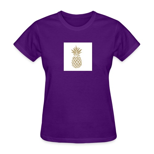 glitter pineapple - Women's T-Shirt