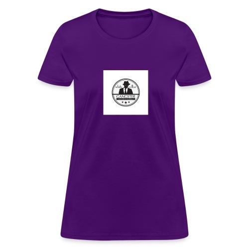 gangster logo design logo free design gangster log - Women's T-Shirt