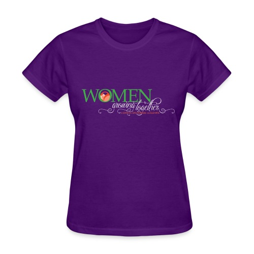 WGT FINAL Logo White Words - Women's T-Shirt