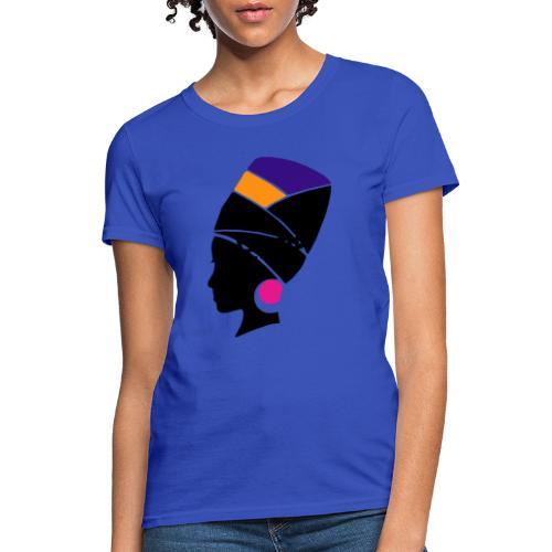 Original Kulture Colorful Sister Print - Women's T-Shirt