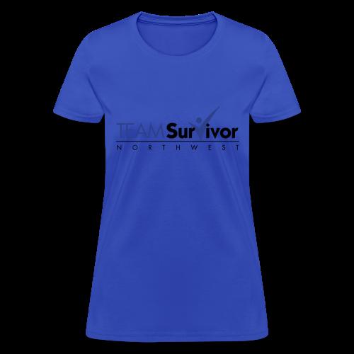 TSNW logo - Women's T-Shirt