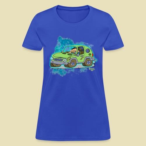 Ongher's UFO Car - Women's T-Shirt