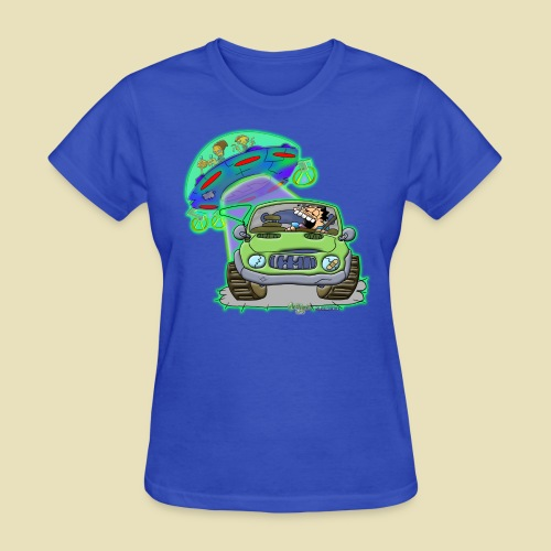 GrisDismation Ongher's UFO Alien Abduction - Women's T-Shirt