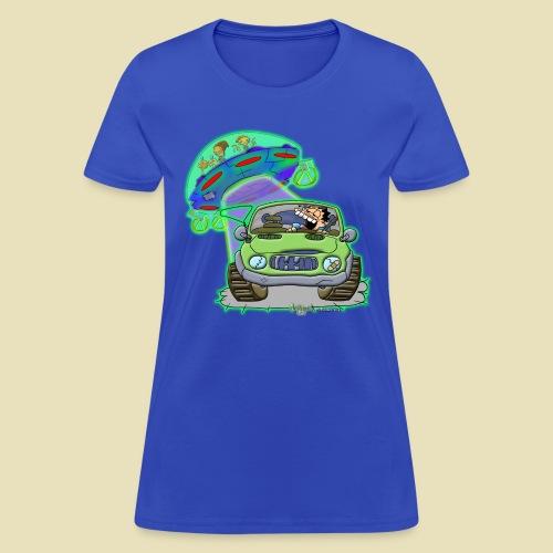 GrisDismation Ongher's UFO Alien Abduction - Women's T-Shirt