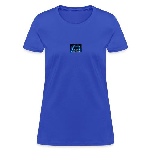 WolfanimatedbyAshley - Women's T-Shirt