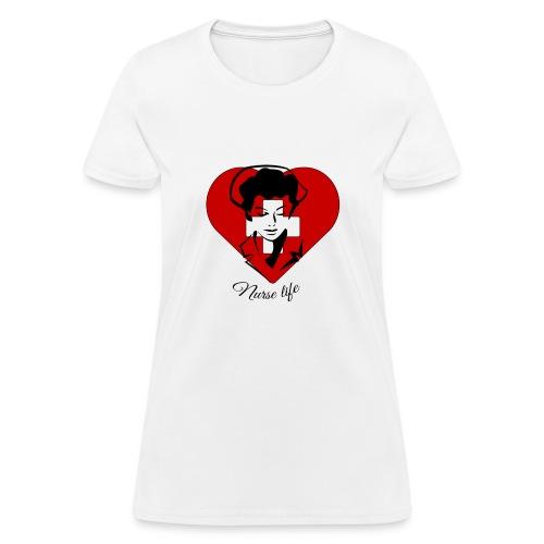 nurselife - Women's T-Shirt