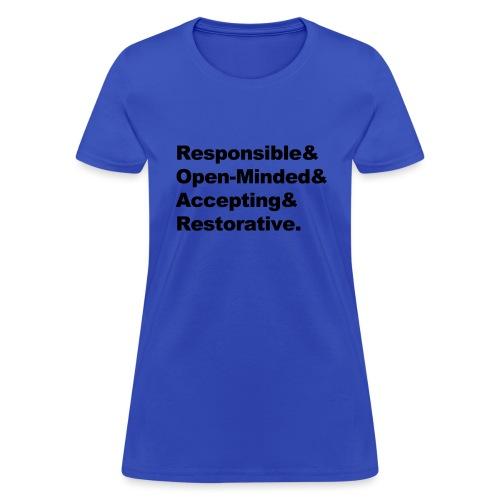 ROAR Helvetica - Women's T-Shirt