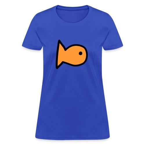 Charlytoons's fish - Women's T-Shirt