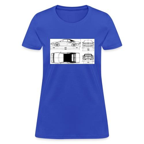 artists rendering - Women's T-Shirt