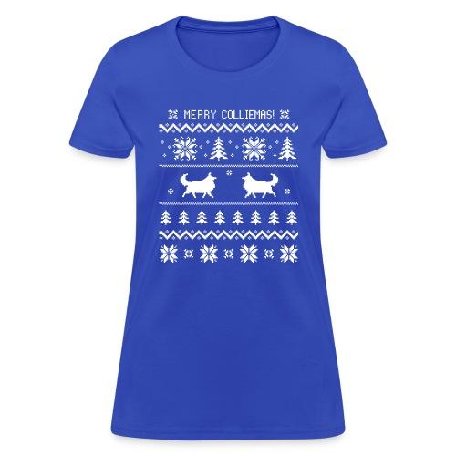 Merry Colliemas - Women's T-Shirt