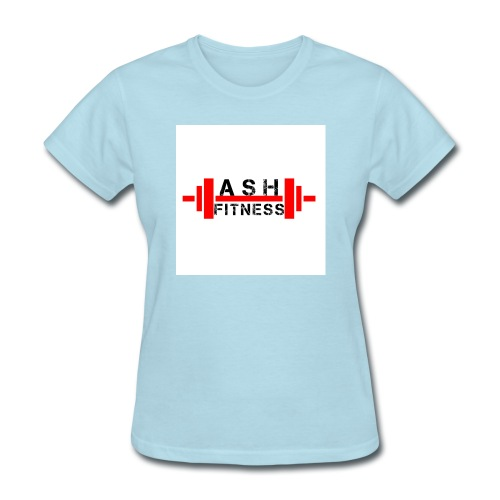 ASH FITNESS MUSCLE ACCESSORIES - Women's T-Shirt