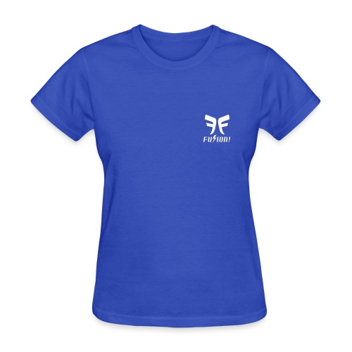 Fusion Logo White - Women's T-Shirt