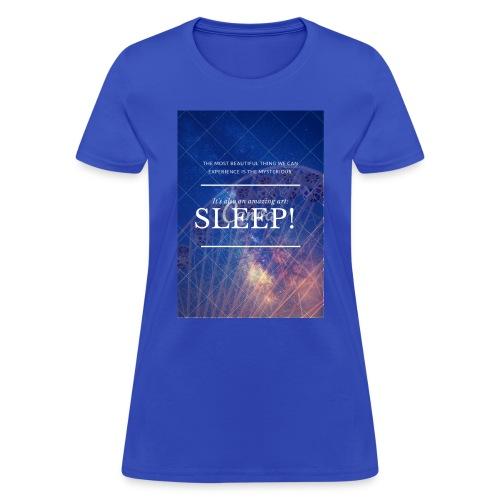Sleep Galaxy by @lovesaccessories - Women's T-Shirt