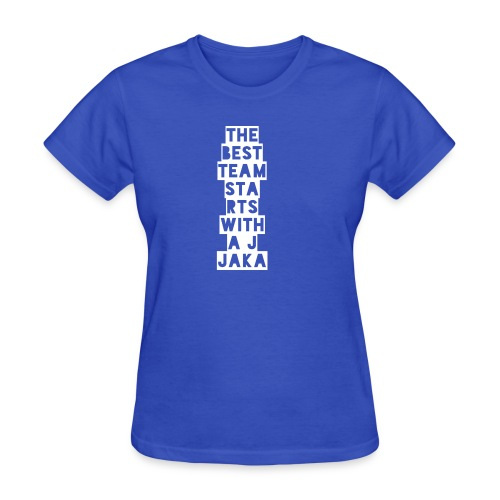 The Best Team Jaka - Women's T-Shirt