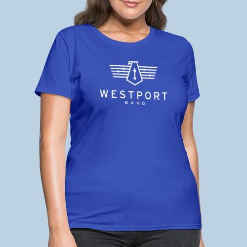 Westport Band White on transparent - Women's T-Shirt
