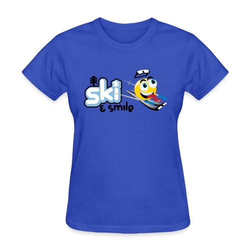 Smile And Ski - Women's T-Shirt