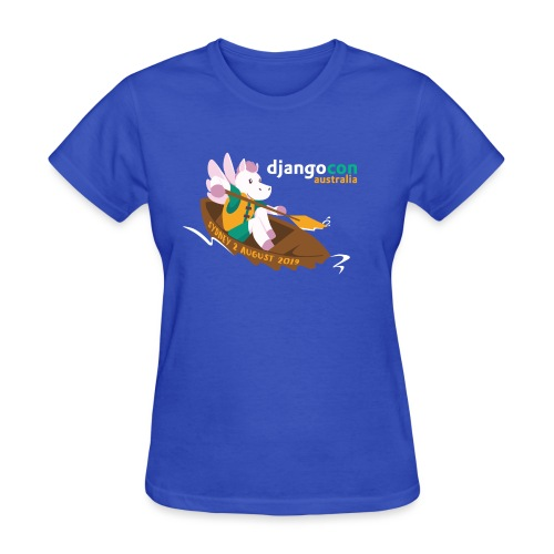 DjangoCon AU 2019 - Women's T-Shirt