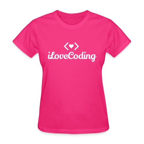 I Love Coding - Women's T-Shirt