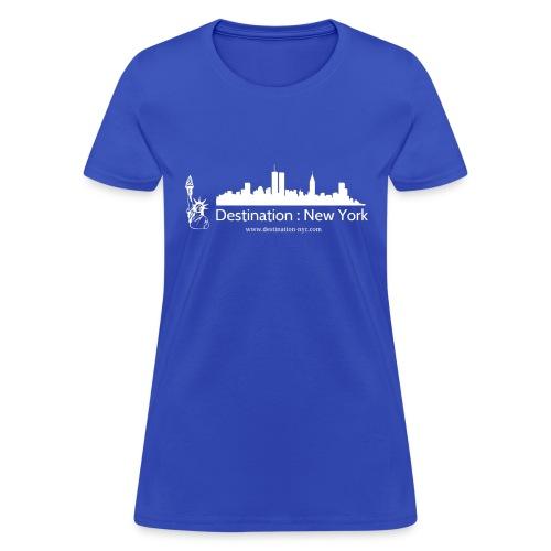 destination white - Women's T-Shirt