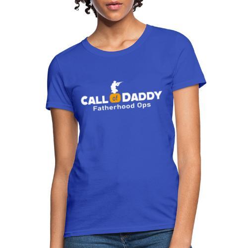 Game Dad Shirt Fatherhood Shirt for Dad s Mens C - Women's T-Shirt
