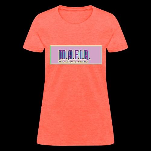 Trippy Mafia Logo - Women's T-Shirt