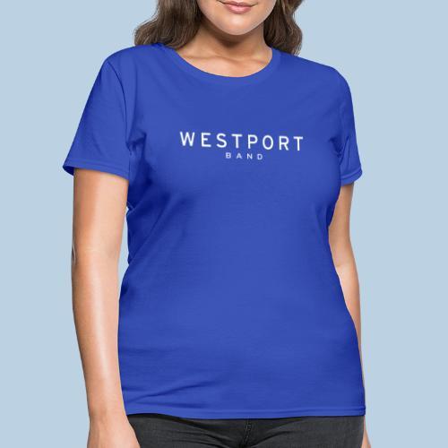Westport Text White on transparent - Women's T-Shirt