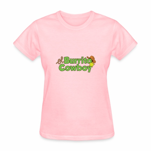 El Burrito Cowboy LOGO - Women's T-Shirt