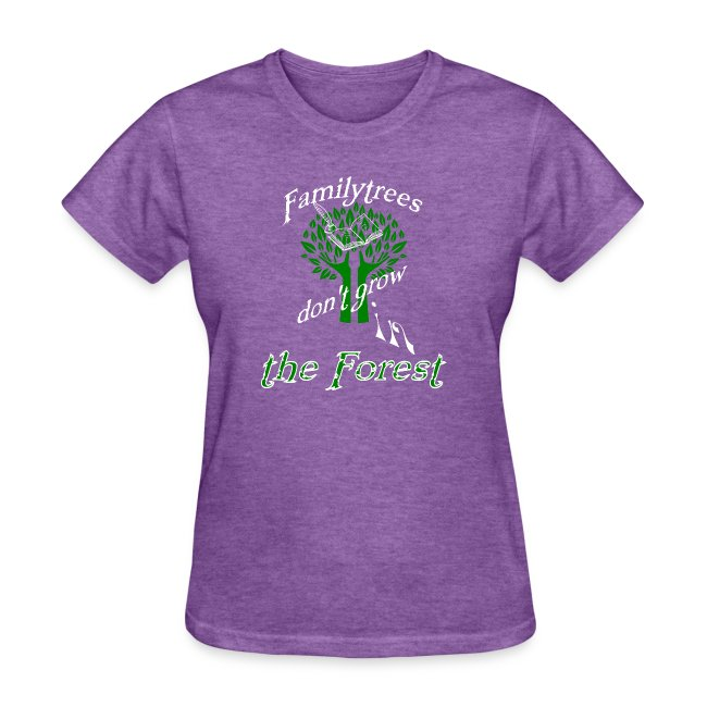 genealogy family tree forest funny birthday gift