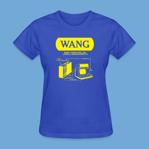 Wang Computers - Yellow - Women's T-Shirt
