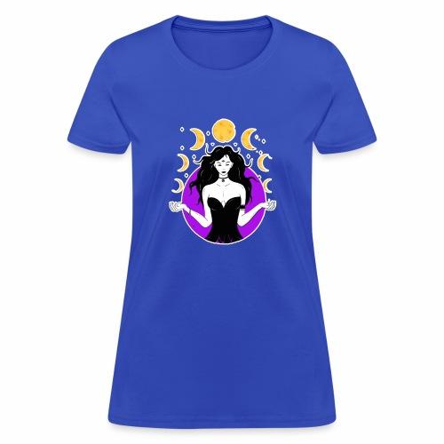 Lunar goddes - Women's T-Shirt