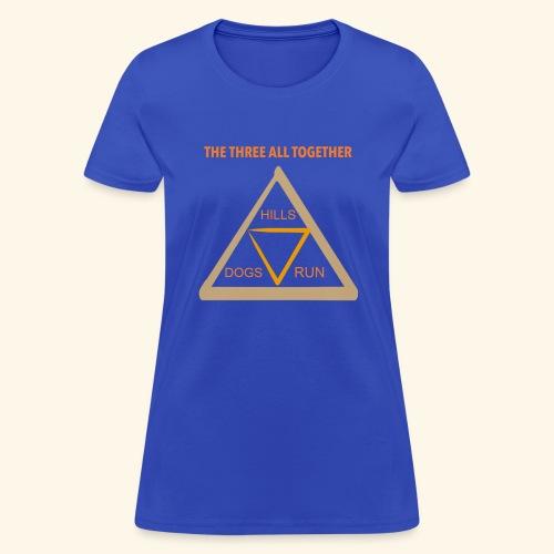 Run4Dogs Triangle - Women's T-Shirt