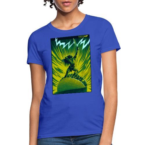 TACO BARBARIAN (green n blue variant) - Women's T-Shirt