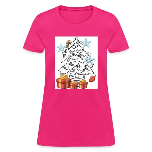 Christmas is here!! - Women's T-Shirt