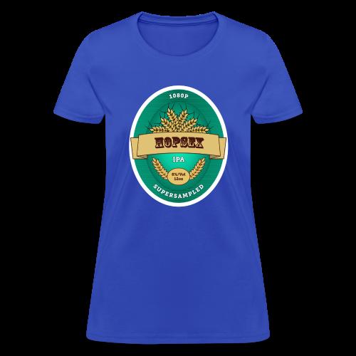 1080p Supersampled HOPSEX - Women's T-Shirt
